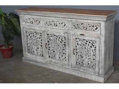 Temple Sideboard - White