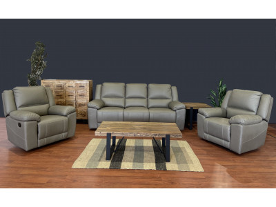 Paxton 3 Seater Recliner + 2 recliner Chairs