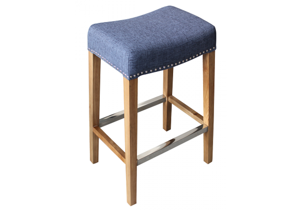 Pierre Bar Stool Blue