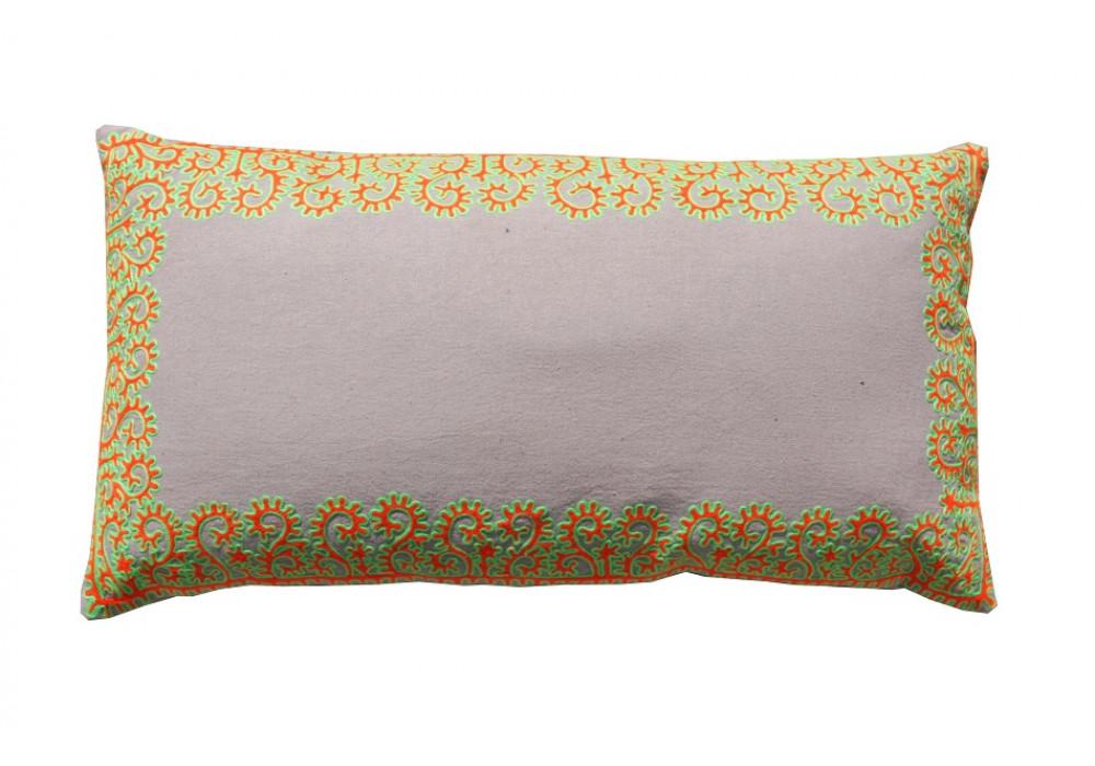 Citrus Border Cushion