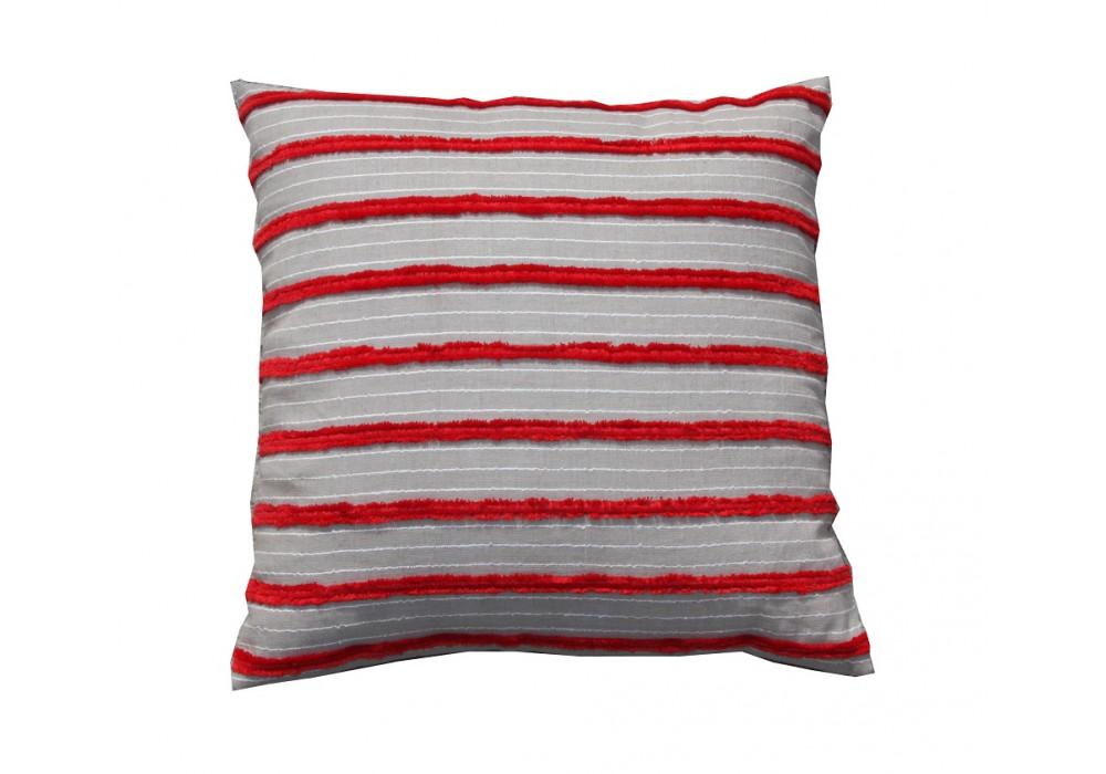 Red Stripes Cushion