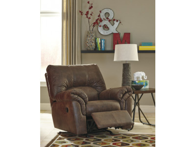 Texas Rocker Recliner- Coffee