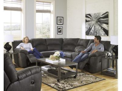 Nashville Corner Suite with End Recliners