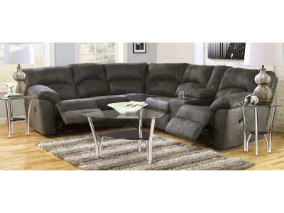 Nashville Corner Suite with End Recliners