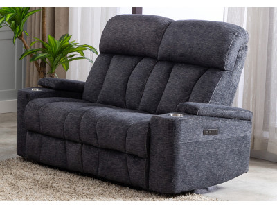 Dawson 2 Seater With Electric Recliners
