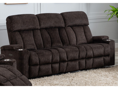Dawson 3 Seater Electric Theatre Sofa