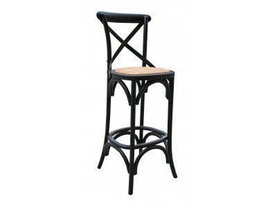 Bella Bar Chair - Black