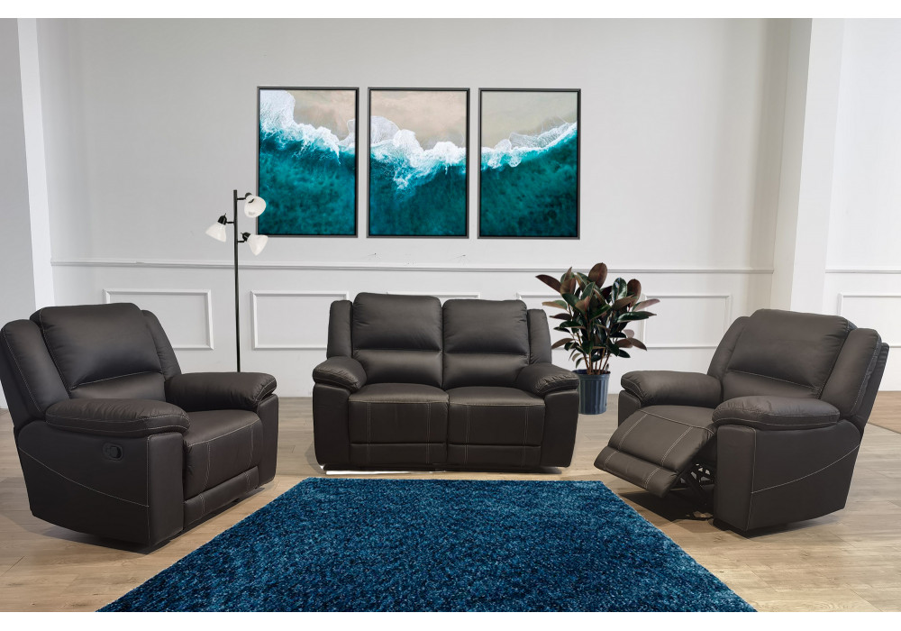 Paxton 2 Seater Recliner + 2 recliner Chairs