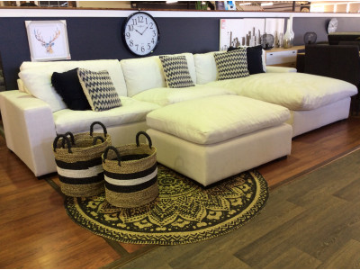 Plume Chaise Suite