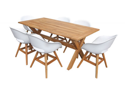 Karlstad 7 Pce Dining Suite