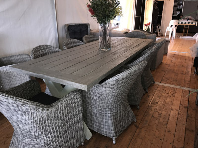 Norwich 9 piece Dining Suite with Coventry Chairs