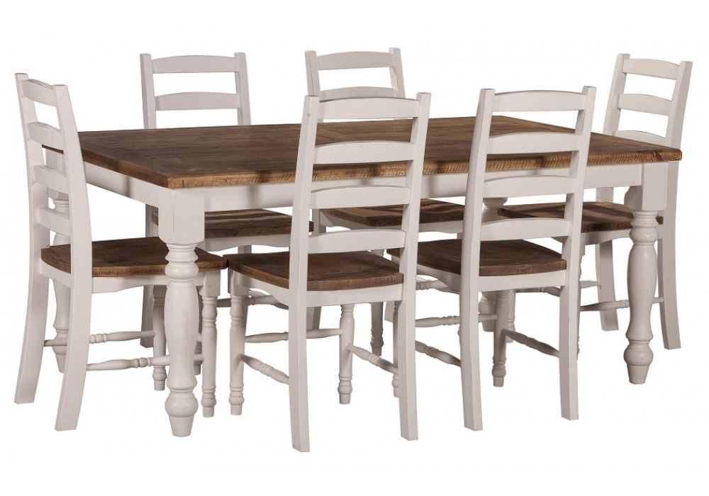 Notting Hill 1800 7 Piece Dining Suite