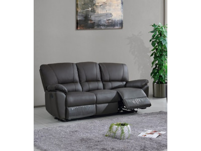 Frederick 3 Seater with Twin Recliners
