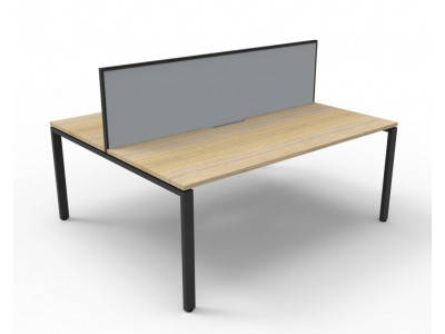 Deluxe Double Sided Workstation with Screen 1200mm