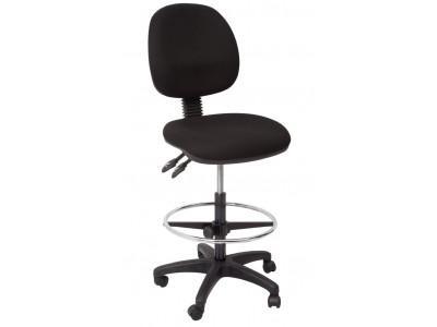 Commercial Grade Medium Back Drafting Chair