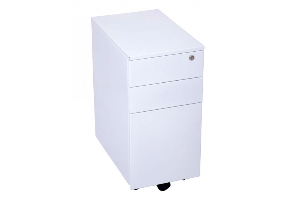 Mobile Pedestal 3 Drawer - Slimline