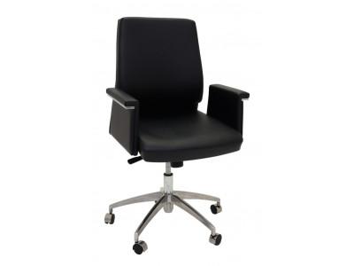 Pelle Medium Back Executive Chair