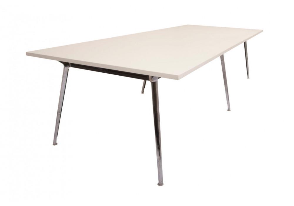Boardroom Table with Aluminium legs