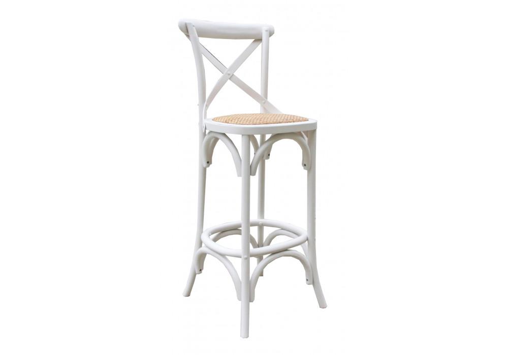 Bella Bar Chair - White