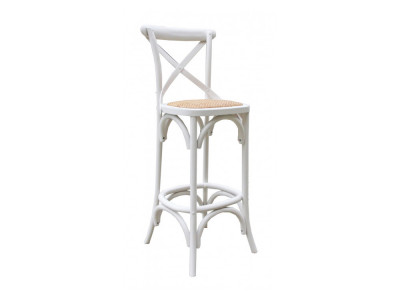 Bella Bar Chair - White