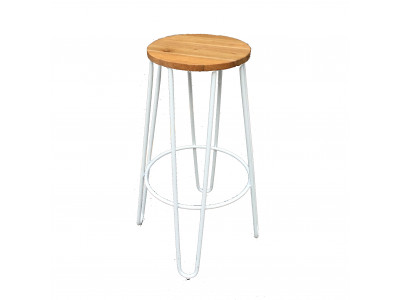 Doncaster Bar Stool - White