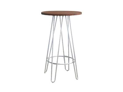 Doncaster Bar Table - White