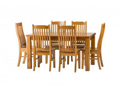 Cronulla 7 piece 1800 Dining Suite