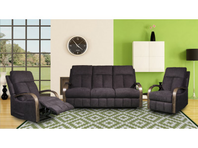 Mayford 3 Seater Recliner Sofa