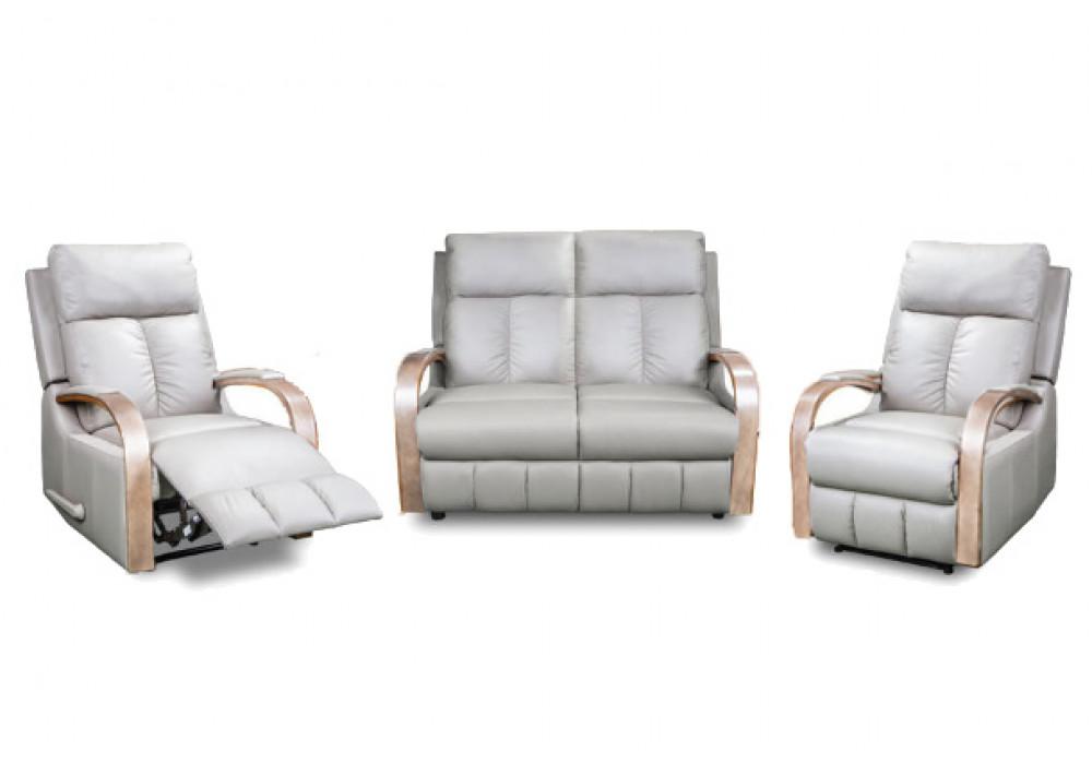 Ascot 2 Seater + 2 Recliner Suite