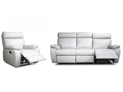 Roma Full Power 2 Seater + 2 Recliner Suite