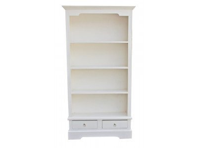 Angela Bookcase - White