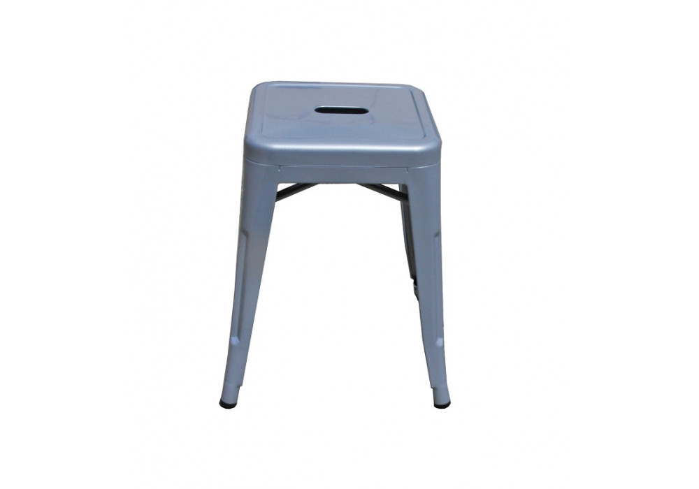 Tully Stool - Silver