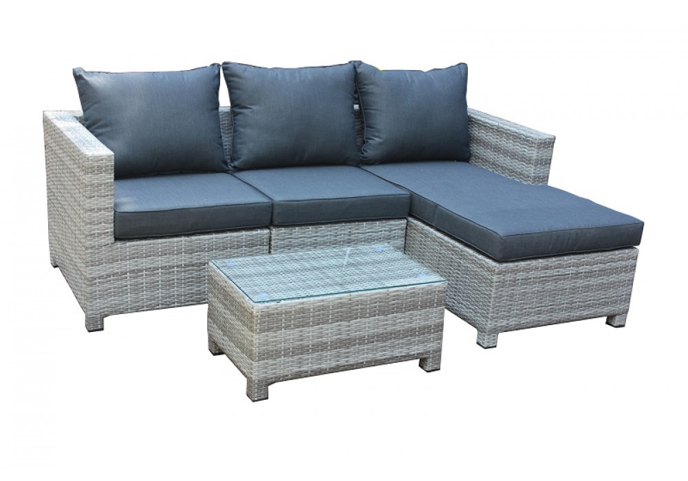 Trinity Outdoor Chaise Suite