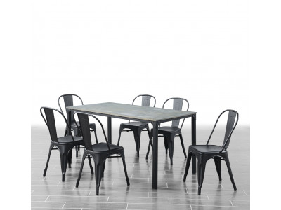 Reni 7 Piece Dining Suite