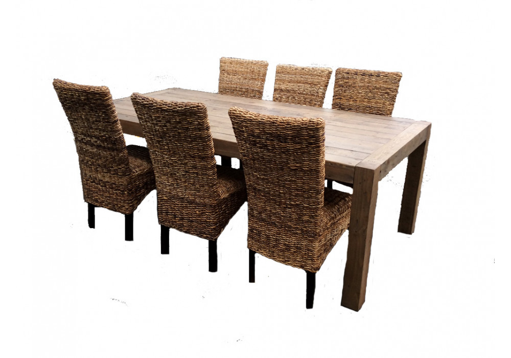 Benson 7pce Dining Suite with Avalon Chairs