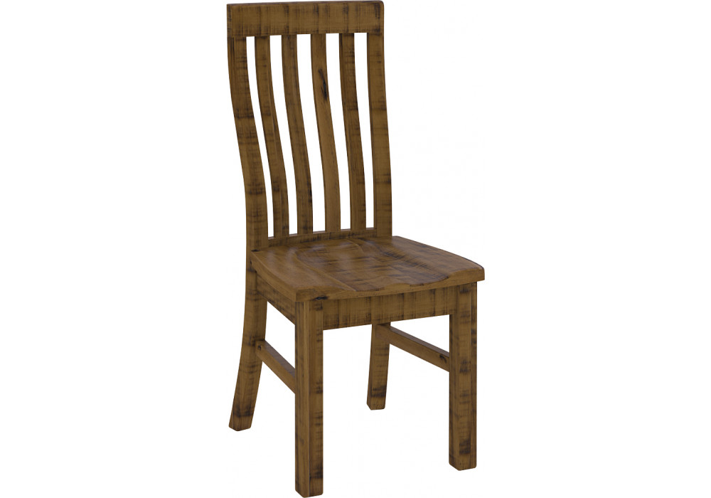 Woolshed Dining Chair with Solid Seat