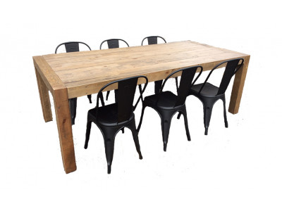 Benson 7pce Dining Suite with Reni Chairs