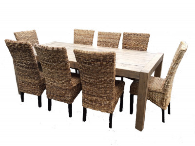 Benson 9pce Dining Suite with Avalon Chairs
