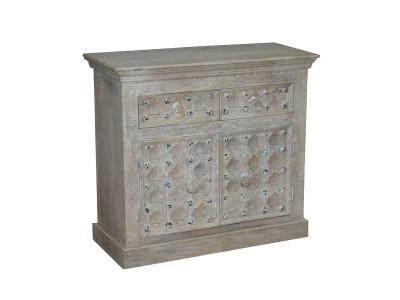 Kavali 2 Drawer 2 Door Cabinet