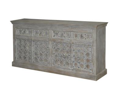 Kavali 4 Drawer 4 Door Cabinet