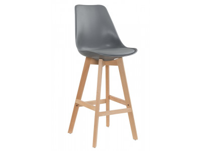 Zoe Bar Chair - Grey