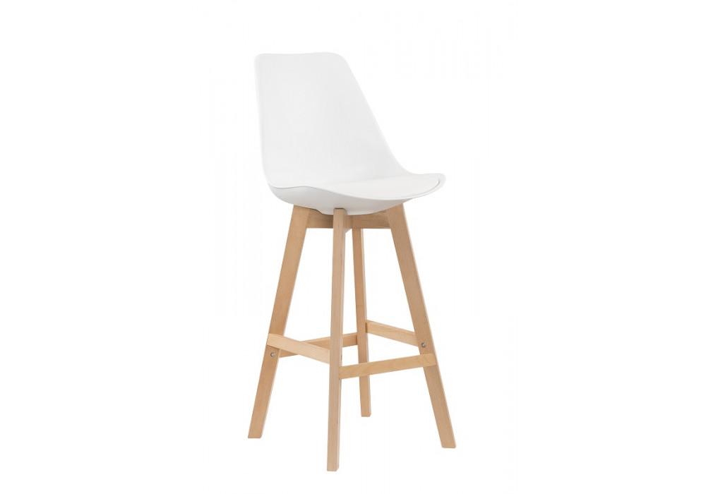 Zoe Bar Chair - White
