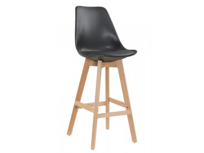 Zoe Bar Chair - Black