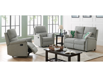 Morgan 2 Seater Lounge + 2 recliner Chairs