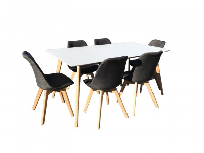 7 Piece Elyse Dining Suite