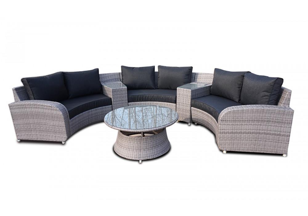 Seaspray Outdoor Corner Suite With Table