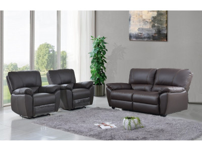 Frederick 2 Seater with Twin Recliners + 2 Recliners