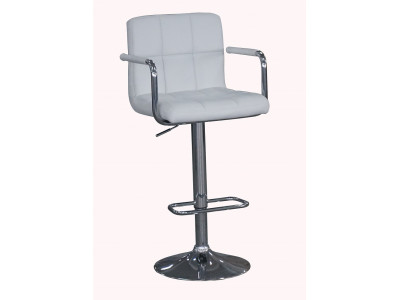 Mica Bar Stool - White