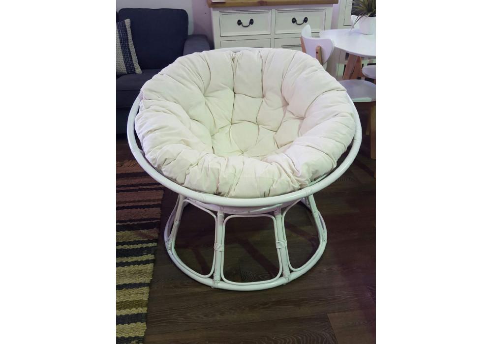 Papasan Chair White