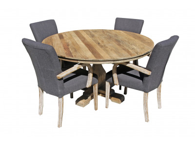 Bordeaux Round Dining Table - 140 x 140 cm